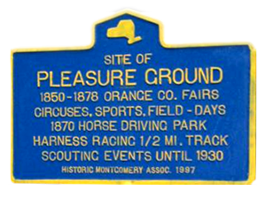 Pleasure Ground Park Sign